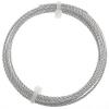 Artistic Wire - Braid 14ga Round Non-tarnish Silver 5Ft